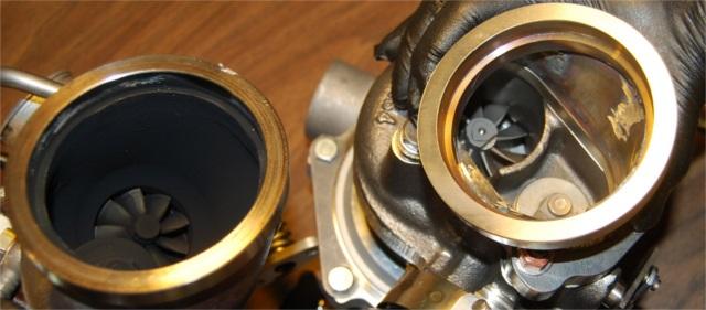 Stratified ATP GTX2867R VS Focus ST OEM K03 Turbine Comparison