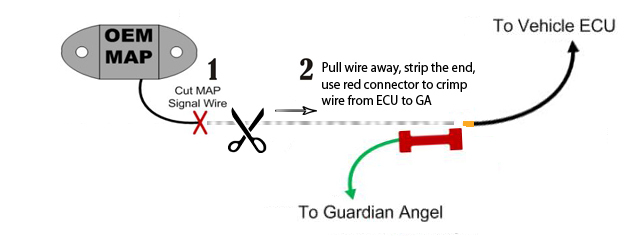 Guardian angel v3 overboost protection w 4 bar map sensor mazdaspeed 3 and 6 ford focus st ecoboost mustang and fiesta st and other brands that use the same style bosch sensor have the map sensor wire on the swarovskicordoba Image collections