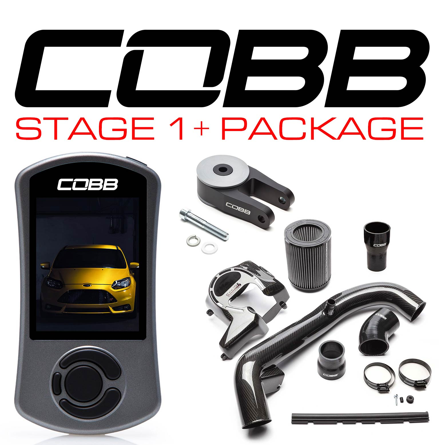 COBB Stage 1+ Power Pack CF w/ V3 Focus ST INCLUDING FLASH TUNE