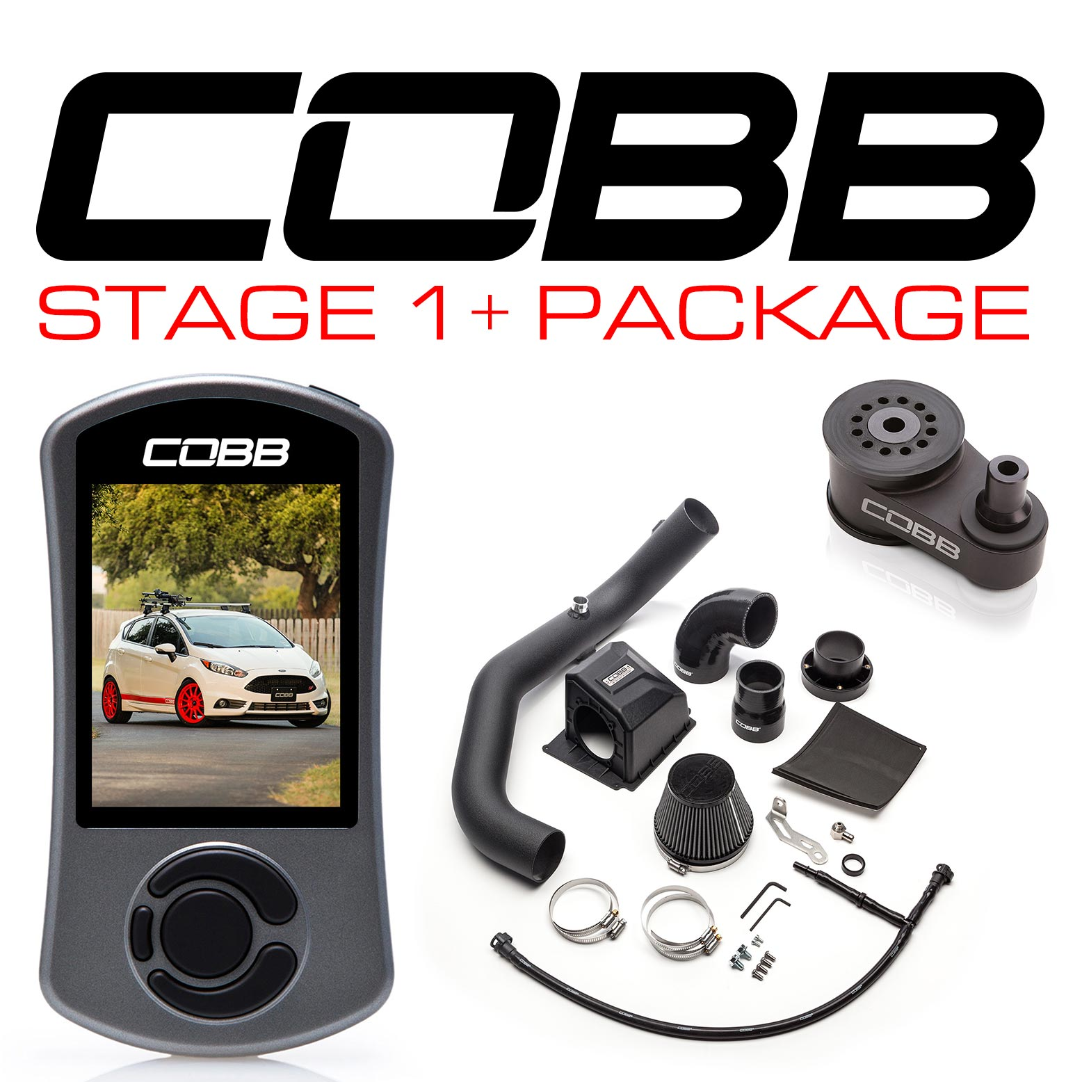 COBB Fiesta Stage 1+ Power Pack INCLUDING FLASH TUNE