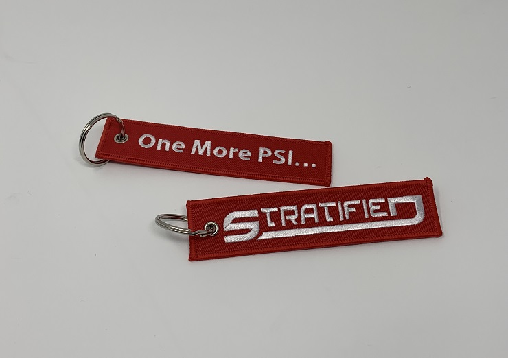 STRATIFIED One More PSI Keychain