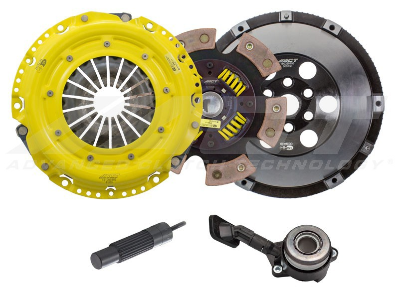 ACT Clutch Kit Heavy Duty PP 6 Puck Disc with Flywheel