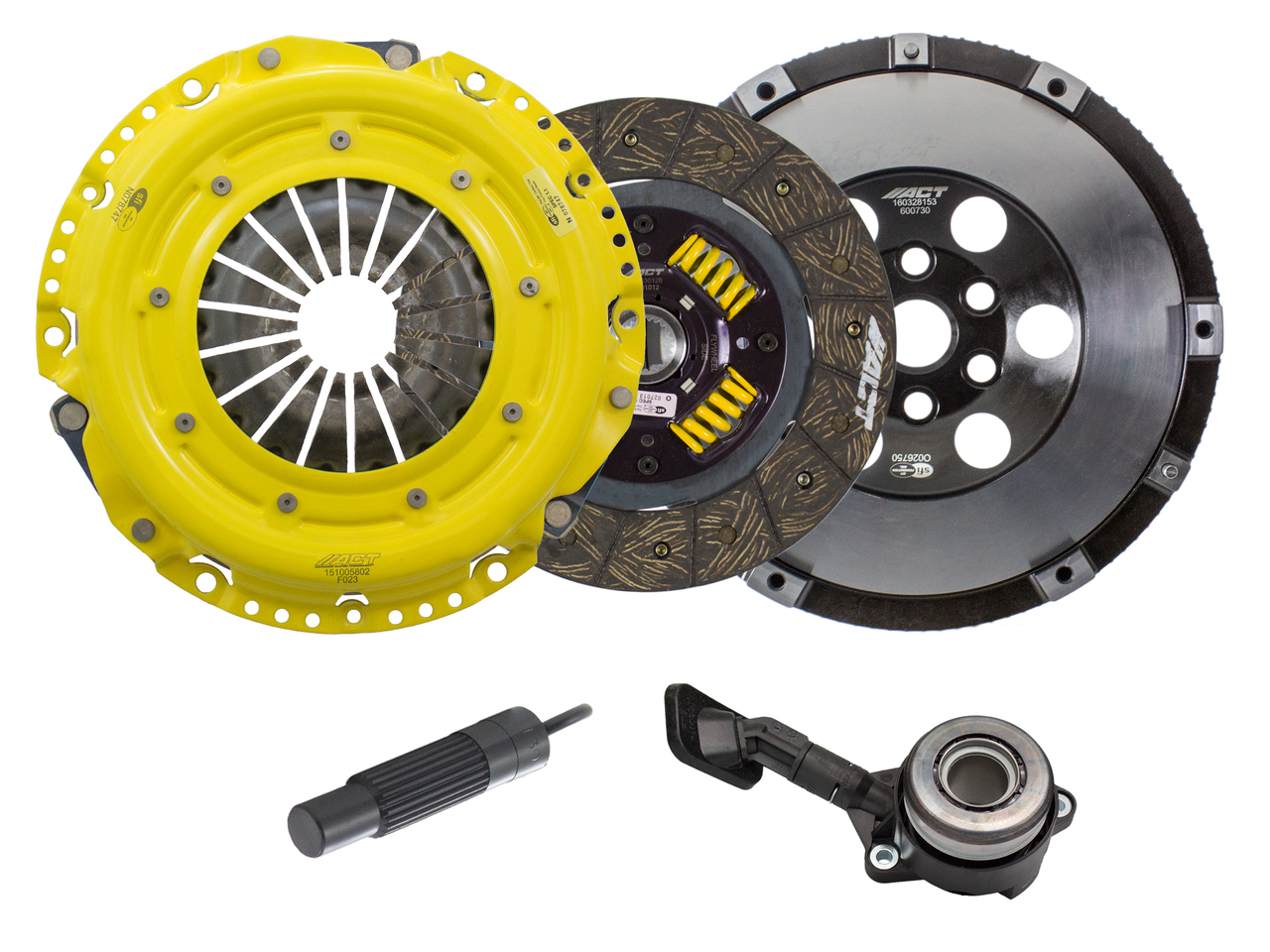 ACT Clutch Kit Heavy Duty PP Street Performance with Flywheel