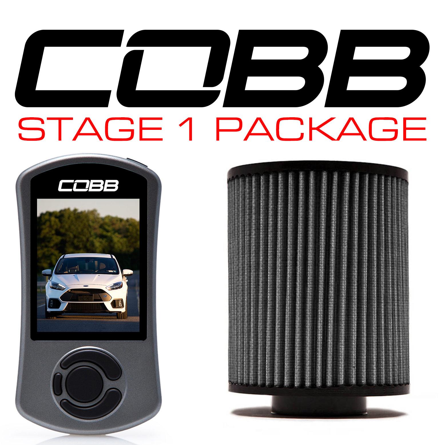 COBB Stage 1 Power Pack w/ V3 - Focus RS