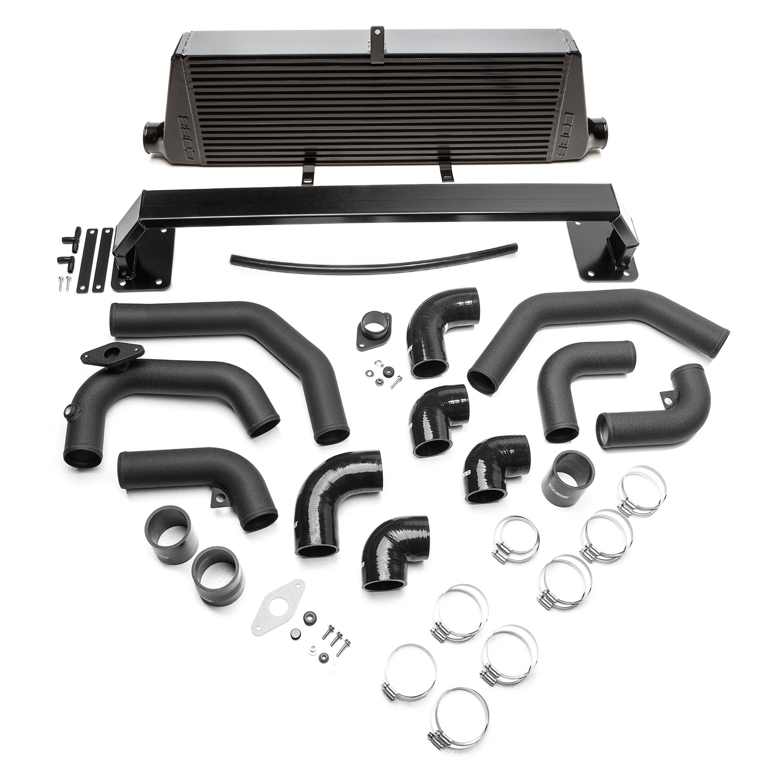 COBB Front Mount Intercooler Kit (Black) WRX 2008-2014