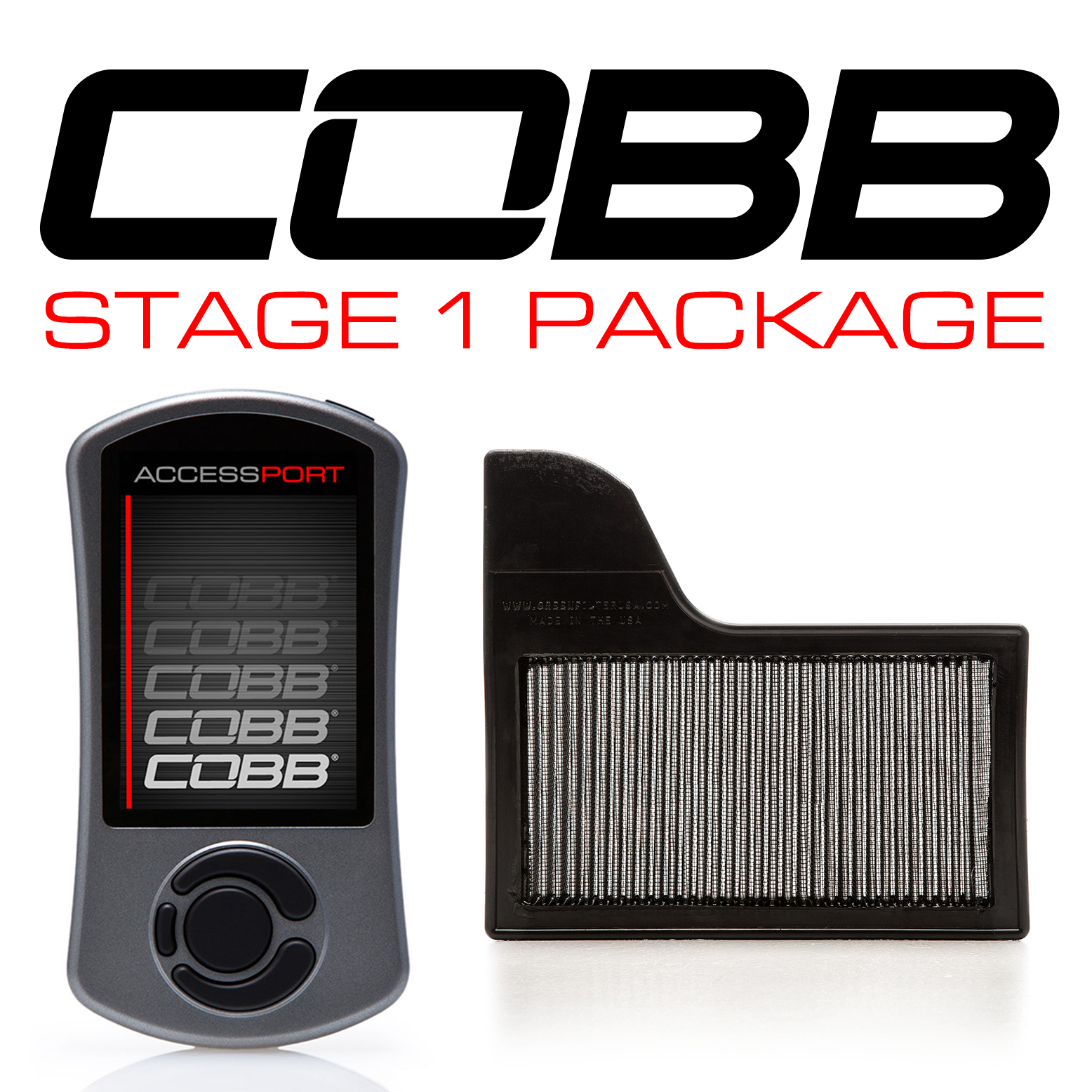 COBB Ford Mustang EcoBoost Stage 1 Power Package