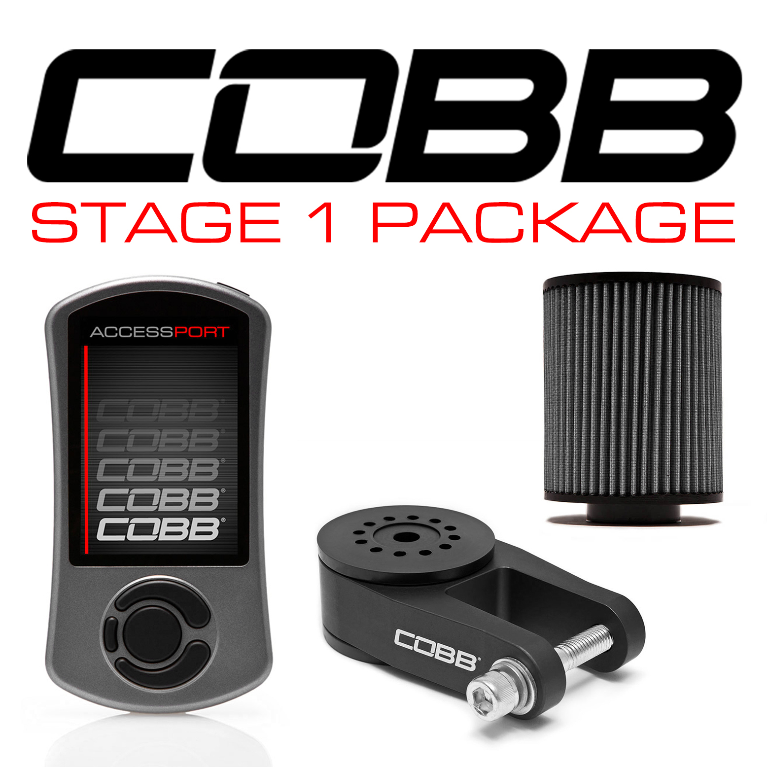 COBB Stage 1 Power Pack w/ V3 Focus ST - WITH FLASH TUNE