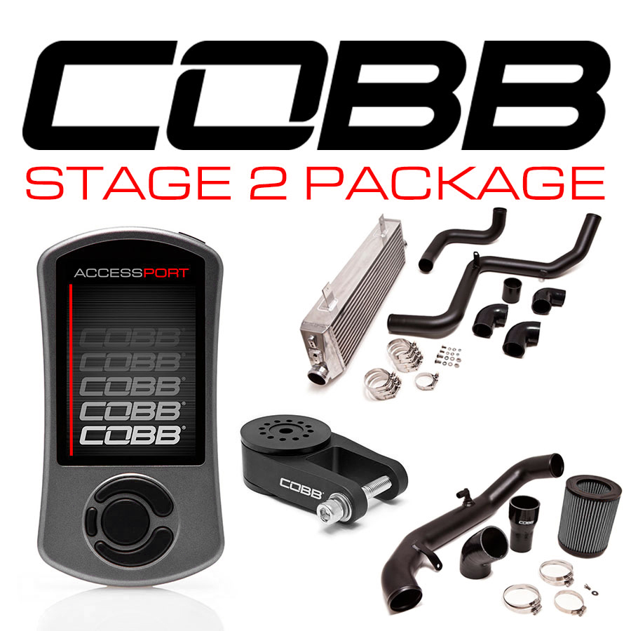 COBB Stage 2 Power Pack w/ V3 Focus ST - WITH FLASH TUNE