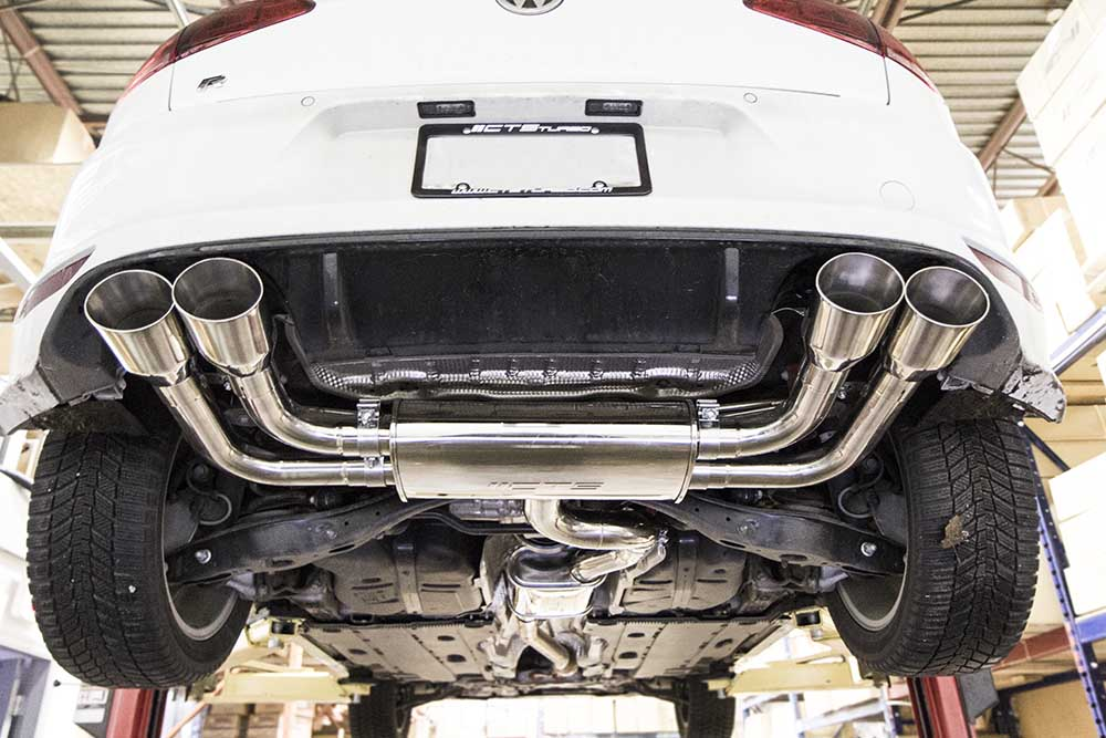 CTS Turbo Turbo Back Exhaust - Mk 7 Golf R [Mk7_GTI_CTS-EXH