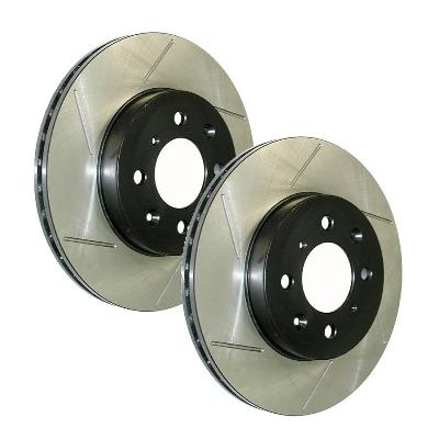 StopTech SportStop Slotted Rear Brake Rotors 260 mm