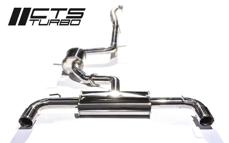 "CTS Turbo 3"" Turbo Back Exhaust Mk.6 GTI"