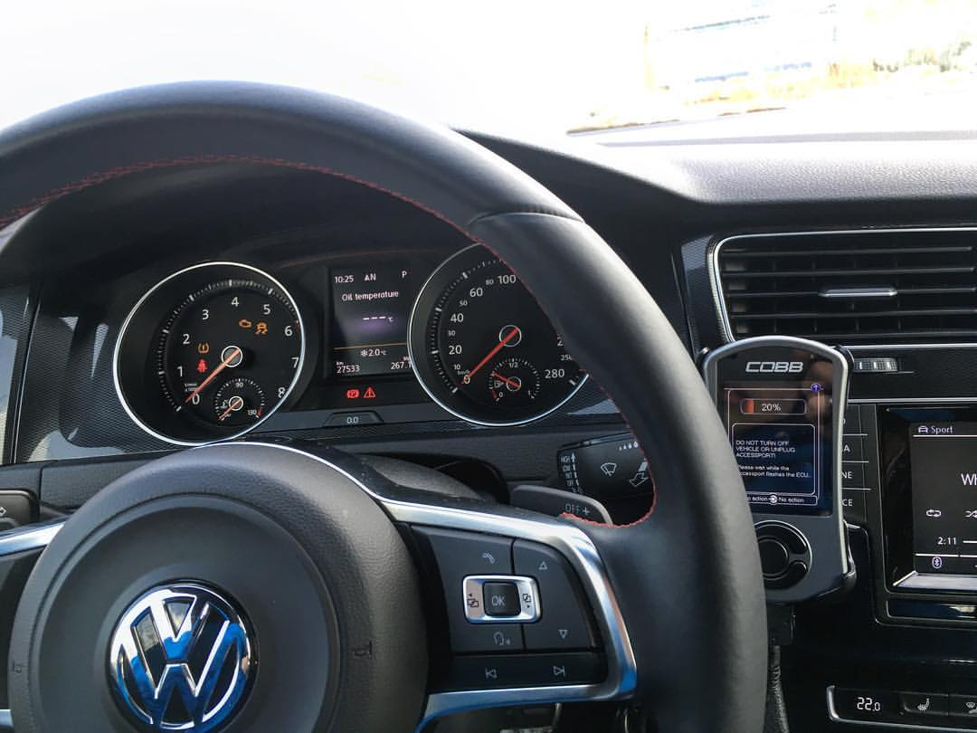 Mk 7 GTI COBB Accessport V3 With Stratified ProTune